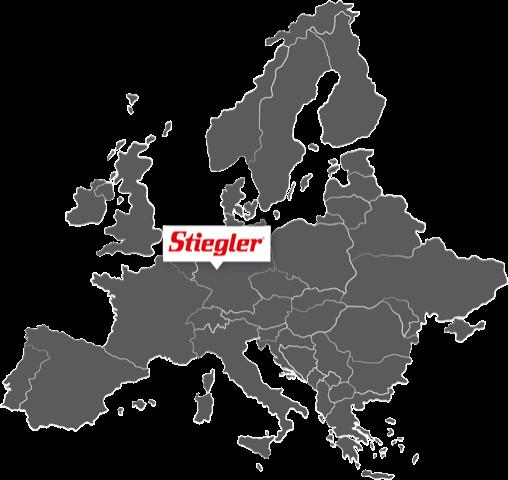 Stiegler Europa Karte